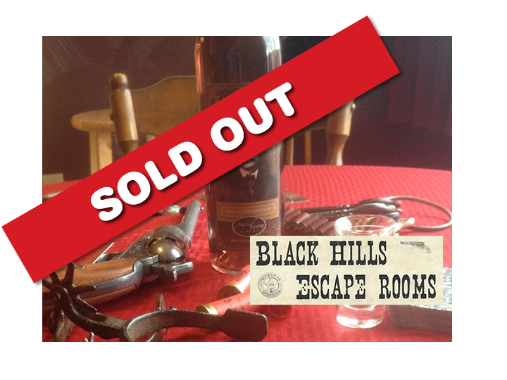 4 people for the price of 2 to Black Hills Escape Rooms for JUST $40
