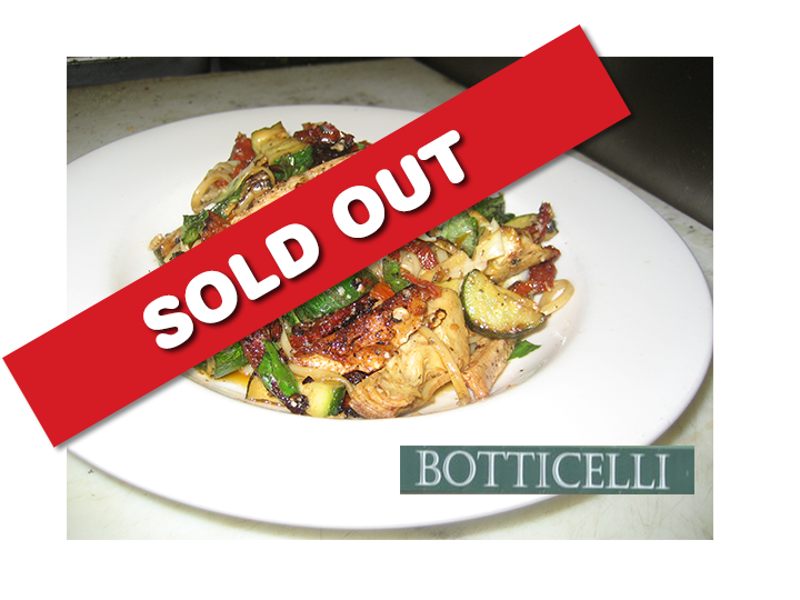 Botticelli Ristorante brings you a phenomenal deal of $30 for ONLY $15!!