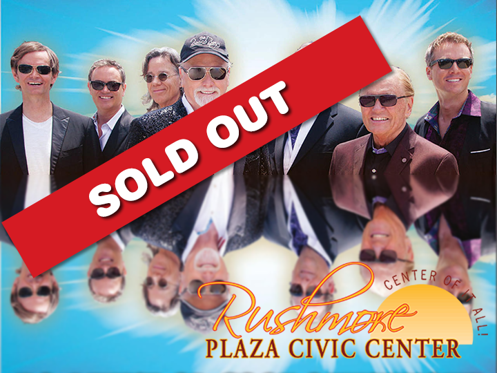Beach Boys concert tickets at the Rushmore Plaza Civic Center for 50% OFF!