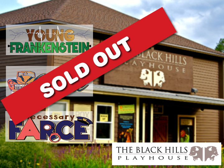 Black Hills Playhouse! Tickets 50%!! ONLY $17!