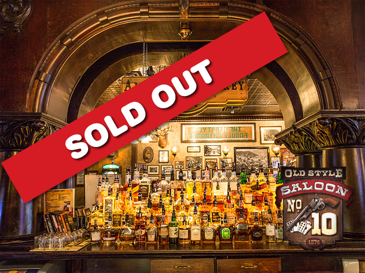 Get a $100 gift card to Saloon No. 10 for ONLY $50!  That's a BIG savings of 50%!