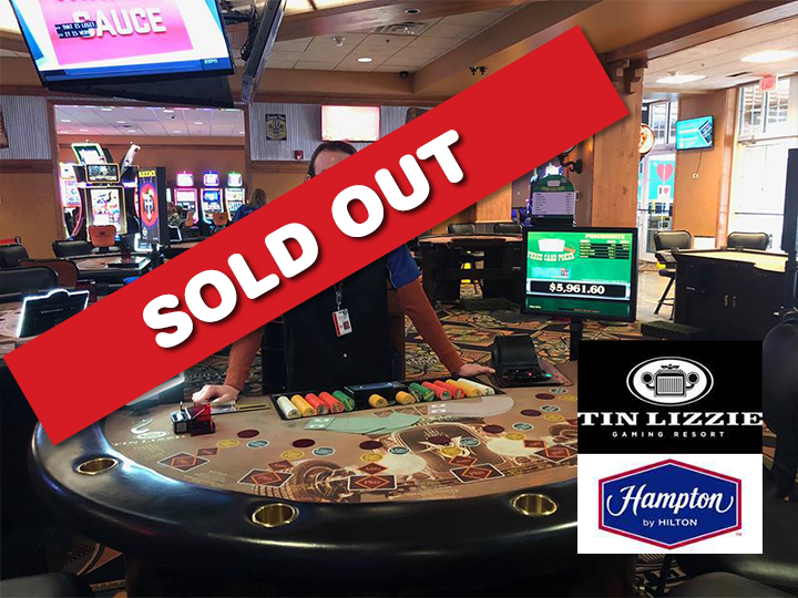Get a night's stay at The Hampton by Hilton, $25 at T-Grille Restaurant and $25 in free play at Tin Lizzie Gaming Resort, HALF PRICE for just $75!