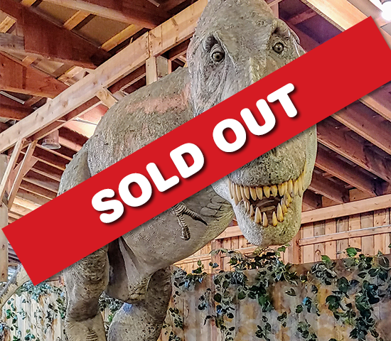 Travel back to the Jurassic with a Family 4 Pack to the Dinosaur Museum Now OPEN by Reptile Gardens! $40 Value Now ONLY $20!