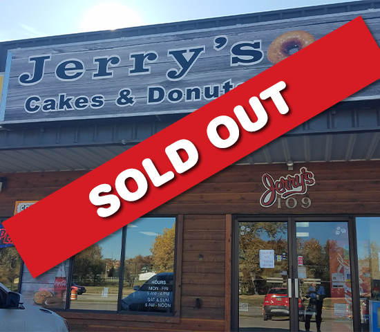 Are You Ready for a Sweet Deal? Get 50% OFF Donuts from Jerry's Cakes & Donuts! $20 Value for only $10!