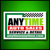 Anytime Auto Sales, Service and Detail